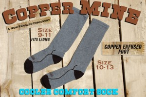 COPPER-MINE-SOCK