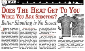 Cowboy Chronicle Press Release